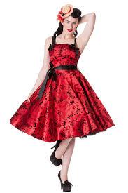 50s pin up halloween costumes rkp8 hell bunny tattoo flock satin 50s rockabilly dress pin up