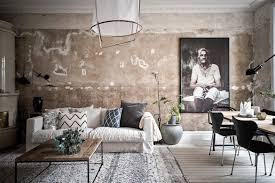 scandinavian home tour with unfinished interior walls