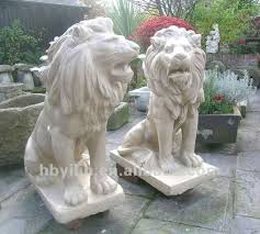 marble lions for sale tallats a mà animals de pedra