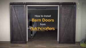 How To Hang A Barn Door by How To Install Interior Sliding Barn Doors