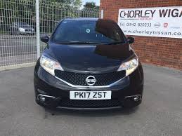 nissan note used 2017 nissan note black edition dci for sale in lancashire