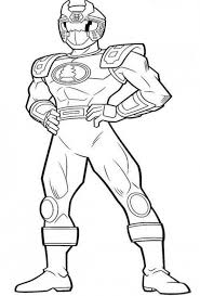 free coloring pages power rangers power ranger colouring free