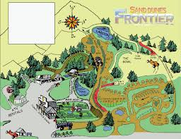 Map Of Oregon State Parks by Florence Oregon Rv And Atv Camping At Sand Dunes Frontier