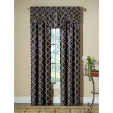 Bed Bath And Beyond Window Valances Buy Blue Window Curtains Valances From Bed Bath U0026 Beyond