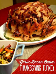 garlic bacon butter thanksgiving turkey the domestic