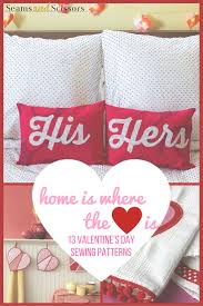 sewing patterns home decor home is where the heart is 13 home decor sewing patterns seams