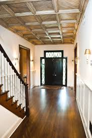 Dark Wood Banister Diamond Paned Windows Staircase Traditional With Dark Wood