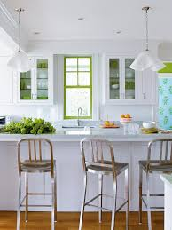 Small White Kitchen Cabinets White Kitchen With Tile Floors Small White Galley Kitchen