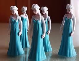 frozen elsa mini figure cake toppers righttolearn com sg