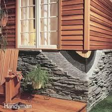 how to install stone facing family handyman