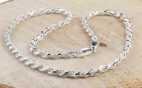 silver necklace styles images Sterling silver chains styles include curb byzantine figaro jpg