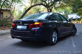 review bmw 530d 2014 bmw 530d m sport review rear quarter lights indian autos