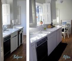 Black Galley Kitchen - black and white galley kitchen ba maegan tintari flickr