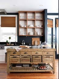Space Saving Kitchen Islands Furniture Modern Movable Kitchen Islands Combine With Wooden