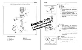 mack e7 diesel engine overhaul repair manual mypowermanual