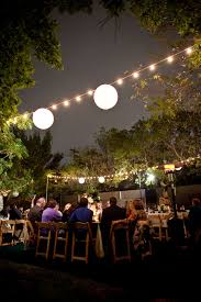 Outdoor Cafe Lighting by Artspace111 Fort Worth Wedding Photography Dallas Wedding