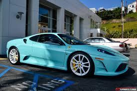 cars ferrari blue tiffany blue ferrari 430 scuderia 2 images ferrari f430 scuderia