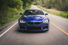 bmw m6 blue review 2016 bmw m6 coupe canadian auto review