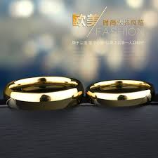 aliexpress buy hot gold plated 5mm 3 5mm tungsten classic gold plating tungsten wedding for woman dome band 3 5mm