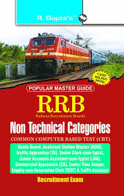 buy rrb cbt non technical popular categories 1st u0026 2nd stage