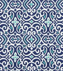 home decor print fabric robert allen new damask marine joann