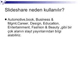 slede share slideshare nasil kullanilir