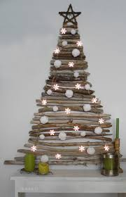 space saving christmas tree ideas by carole poirot the oak