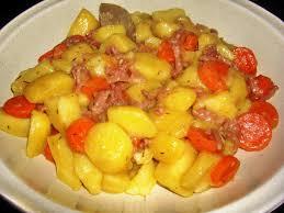 que cuisiner avec des carottes pommes de terre lardons au vin blanc recettes cookeo