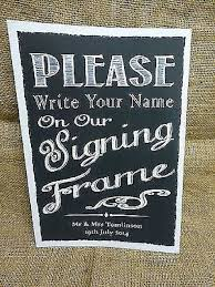 wedding signing frame 7 best guest book alternatives images on marriage