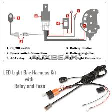 how to wire led light bar to high beam cree light bar wiring diagram wire led high flite test wiring
