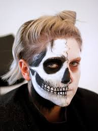 how to create skull makeup snapguide