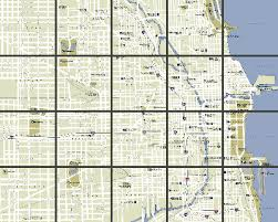 chicago map streets chicago maps area and city maps of chicago illinois