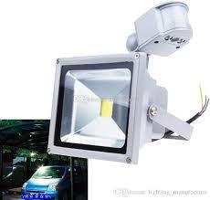 best led motion sensor light led motion sensor light detector flood lights ip65 waterproof