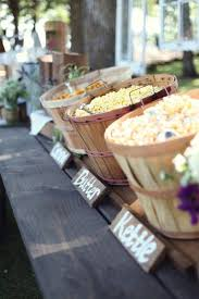 popcorn baskets 5 ideas for bushel baskets