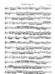Sofa Frank Zappa Frank Zappa The Black Page 1 Melody Score