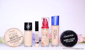 light coverage foundation drugstore my pale skin drugstore base products haul