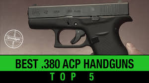 top 5 best 380 acp handguns youtube