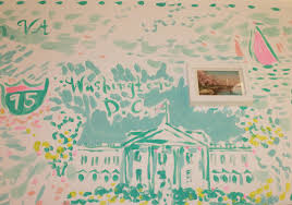 haute indoor couture lilly pulitzer wallpaper
