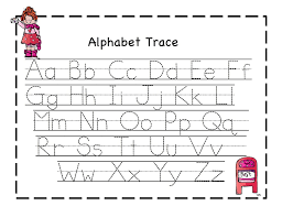 traceable letter worksheets a z printable pinterest letter