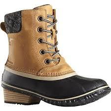 ebay womens ankle boots size 9 sorel womens slimpack ii lace boots 1702251 elk black size 9 ebay