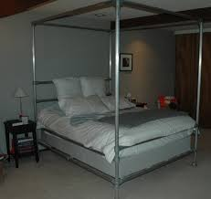 best 25 canopy bed curtains ideas on pinterest bed curtains for aluminum pipe bed 10 steps with pictures pertaining to diy canopy bed frame