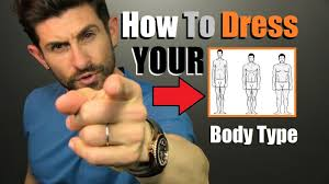 how to dress your body type 6 tough men u0027s body shape style