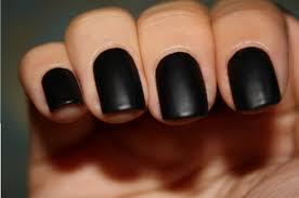 flat black nail polish jordan23queen flickr