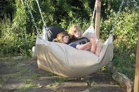 le beanock bean bag hammock chair hiconsumption