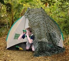 backyard safari tent backyard