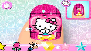 hello kitty cartoon for kids hello kitty nail salon youtube