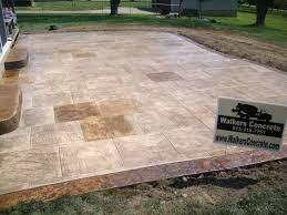 Stamped Concrete Patio Design Ideas by Walkers Concrete Llc Stamped Concrete Patternsstamped