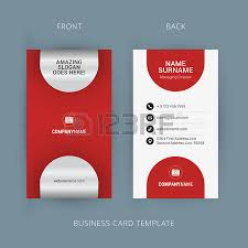 creative and clean business card template flat design pattern