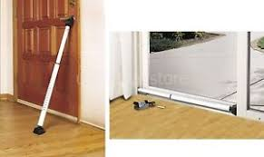 Security Bars For Patio Doors Sliding Door Security Bar Patio Dual Function Hinged Home Safety