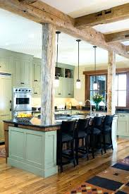 kitchen island posts kitchen island posts using turned posts on the 4 corners of this